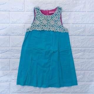 Sky Blue Peppermint Dress