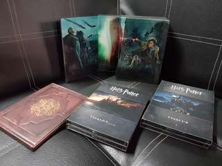 Limited Edition Harry Potter Complete with Bonus for each movies