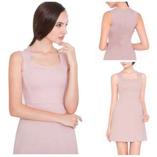 Doublewoot Pale Pink Dress