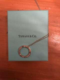 Tiffany & Co pendant necklace