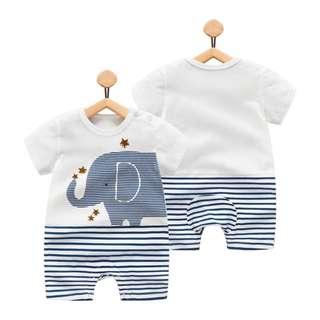 🚚 Star Elephant Romper/Bodysuit