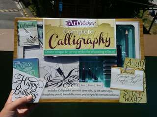 Complete Calligraphy Set Art Maker