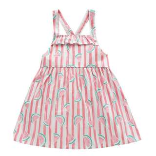 BNWT Girls Cute Strawberry Sundress