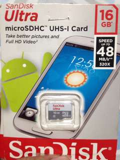 SanDisk 16GB micro