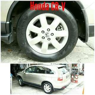 Tyre 225/65 R17 Membat on Honda CR-V 🐕 Super Offer 🙋♂️