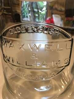 Maxwell & Williams storage jar