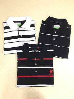 <3 for $23>Men's BH Polo club, Classic Polo.