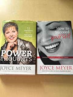 2 preloved joyce meyer books