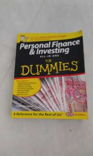 Personal Finance & Investing - Dummies
