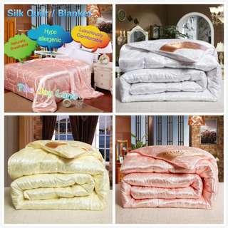 [Limited Stocks] Silk Blanket