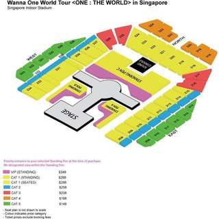 WTS WANNA ONE TICKETS