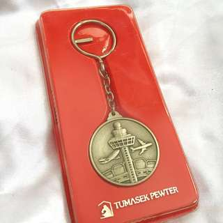 Tumasek Pewter Key Chain