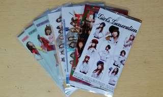 少女時代 官方收藏卡 12張 SNSD Girls' Generation Star Collection Card