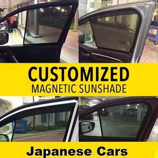 Honda City/Grace Magnetic Sunshades