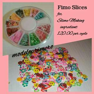 Fimo Slices for Slime Making Ingredient