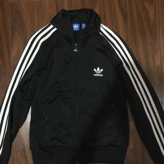 Adidas Classic Black And White Sweater