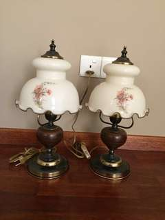 Rare Vintage Table Lamps