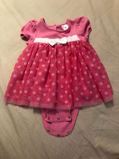 Baby polkadot disney dress