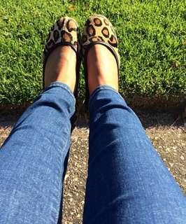 Tony Bianco leopard shoes