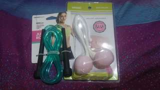 Miniso Face Roller and Jump rope Exchange Gift Set
