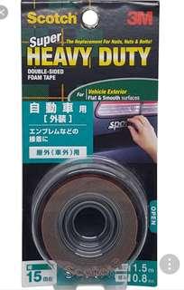 3M Scotch Super Heavy Duty Doubled Sided Foam Tape (KCA-15)