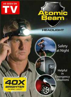 Atomic Beam Headlight 40X Brighter Headlamp LED