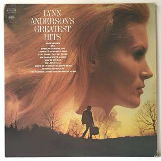 "Lynn Anderson – Lynn Anderson's Greatest Hits (1972 USA Original + Free Bonus 7"" - Vinyl is Excellent)"