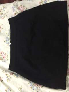 H&M  A-Line Skirt black