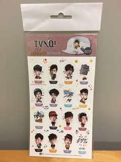 全新TVXQ東方神起 Standing Sticker