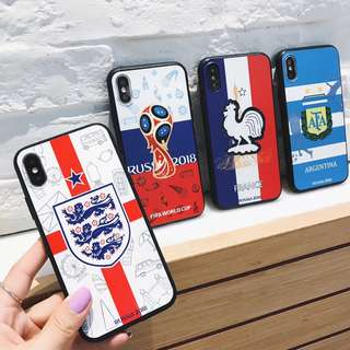 【PO】World Cup Fever Iphone Cases - 4different type