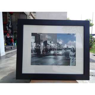 Framing Service for Art with Mat Board Border - Passpartout