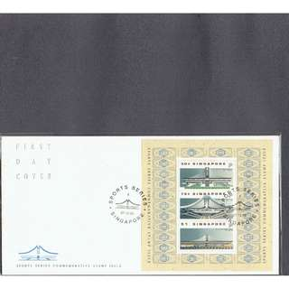 FDC  #341  M.S. Sports Series Commemorative Stamp Issue = Sports Hup
