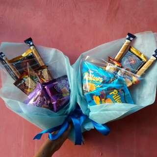 Food bucket / buket makanan / bouquet