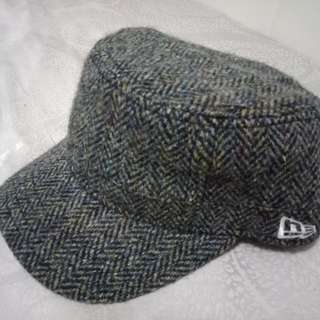 New era hat cap Harris tweed