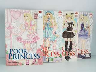 POOR PRINCESS_SET 1-4 END (Manhwa/Komik Korea)