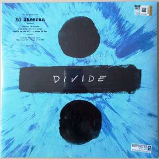 ED SHEERAN Divide Imported LP Vinyl