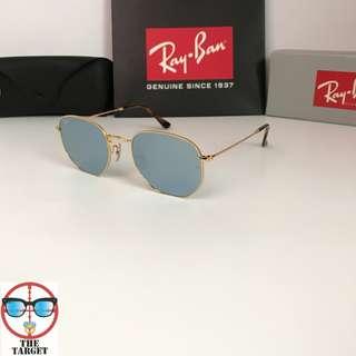 太陽眼鏡 Ray Ban RB3548 54 size sunglasses hexagonal rayban brand new full packages original made in Italy