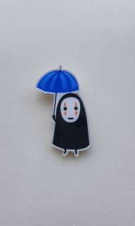 BN Face-less Ghost Pin/Badge