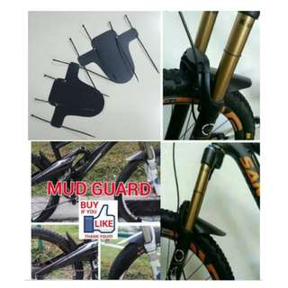 MOUNTAIN BIKE MUDGUARD 2PCS