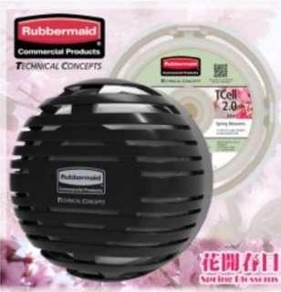 TCELL 2.0 持續式空氣清新機及香味芯套裝 (黑色 + 花開春日)