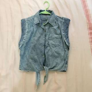 Next Denim blouse