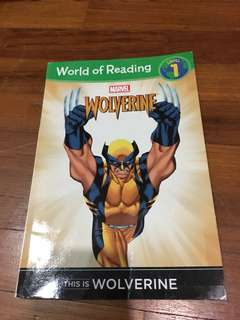 Pre-loved wolverine book