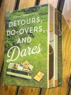 Detours Doovers And Dares A Morgan Matson Collection