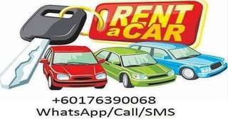 Car Rental for Daily/Weekly/Monthly - Kereta Sewa