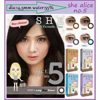 Soflens Alice eye