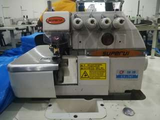 SUPERUI industrial sewing machine High-speed overlock sewing machine overlock sewing machine