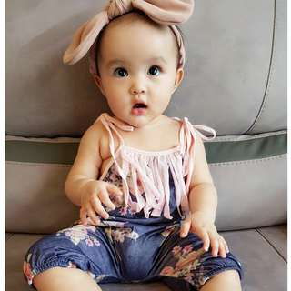 Pretty Flower Jumpsuit (Baby Girl)