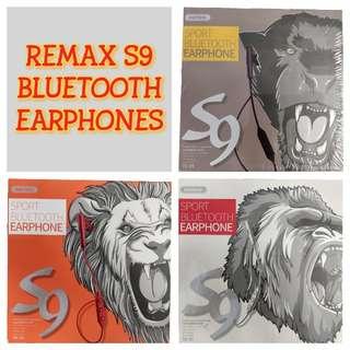 Remax S9 Wireless Bluetooth Headset Stereo Headphones Earphones RB-S9