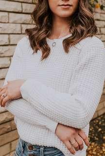 Gorman white knit