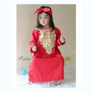 Kaftan Anak | Kaftan Baby | Baju Muslim Anak | Baju Lebaran Anak | Kaftan Queen